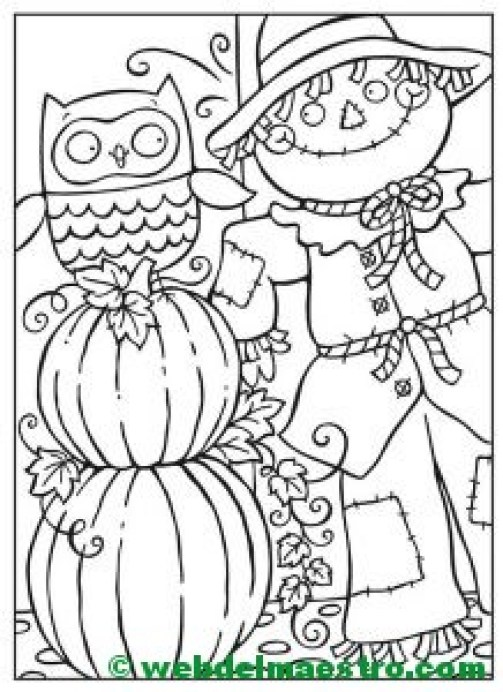 Calabaza de Halloween-5