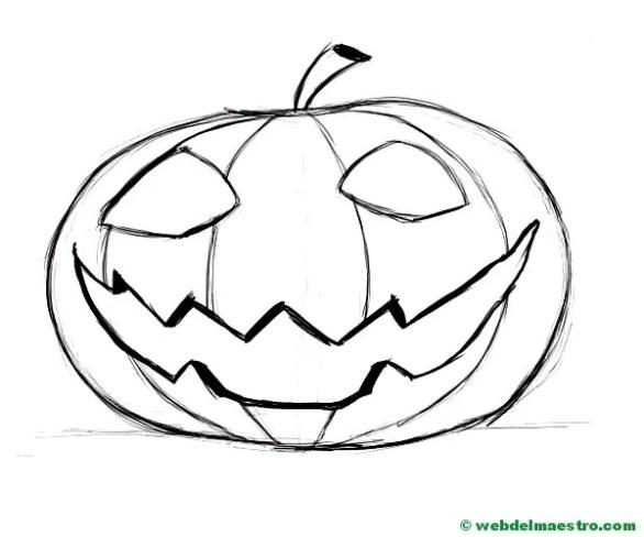 Calabaza de Halloween-7