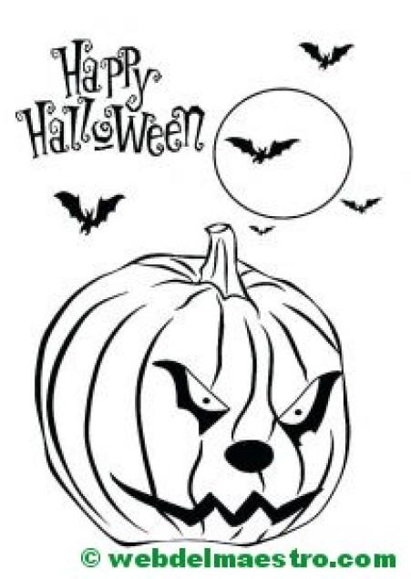 Calabaza de halloween-6