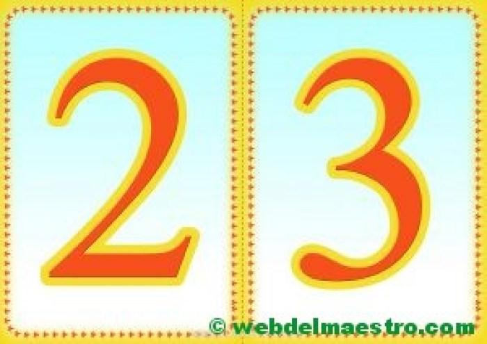 Números 2-3