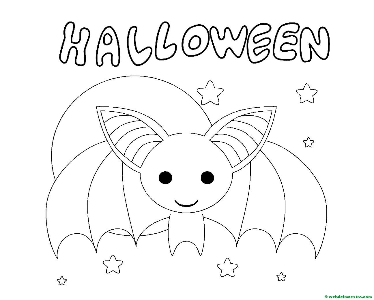 Fantasmas Vampiro Color Facil Halloween Dibujos Www