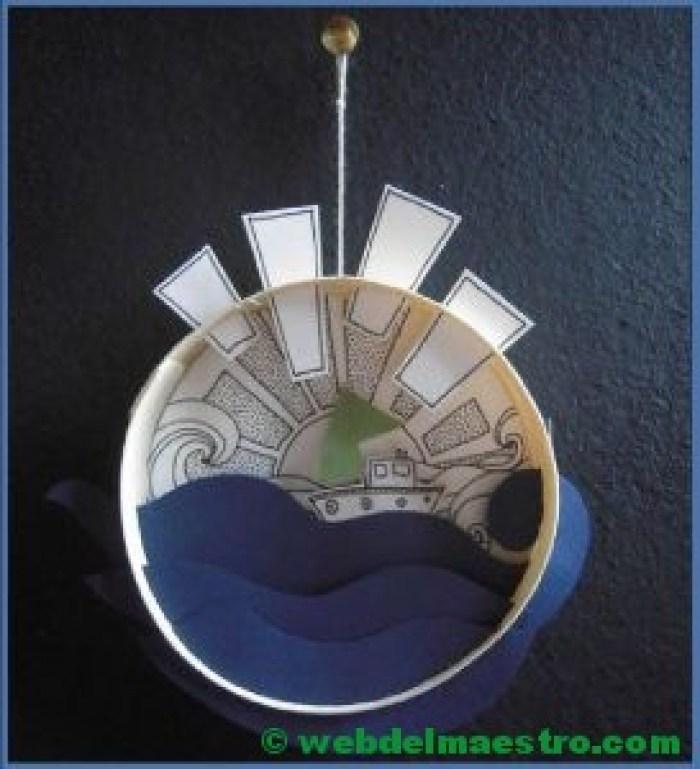 Diorama para niños-el mar
