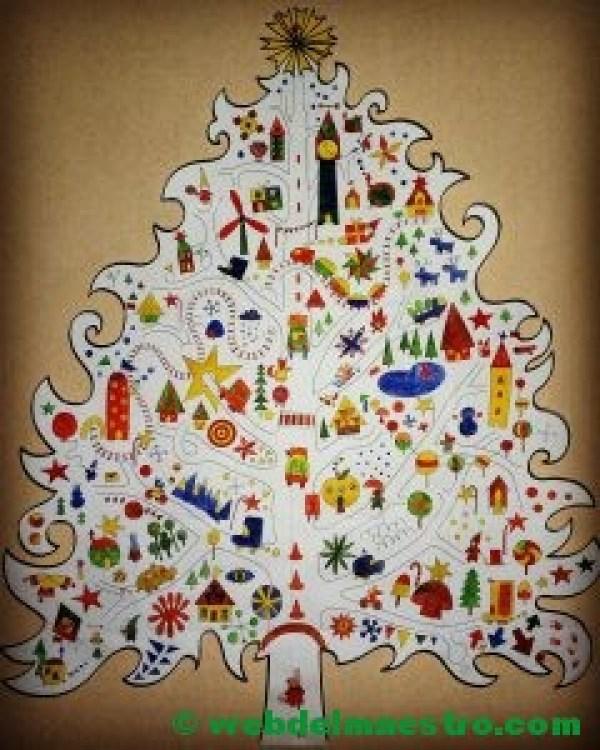 póster árbol de Navidad-terminación