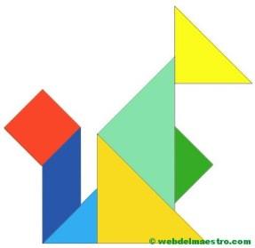tangram ardilla
