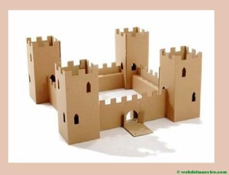 castillo de cartón-IV