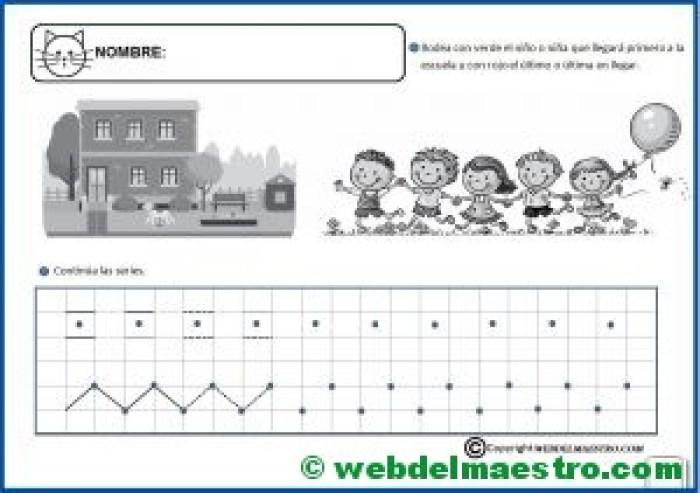 Fichas infantil 5 años para imprimir-