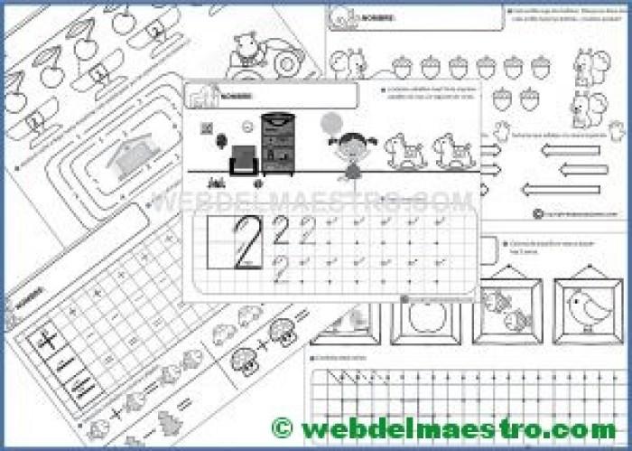 Fichas infantil 5 años para imprimir (II)