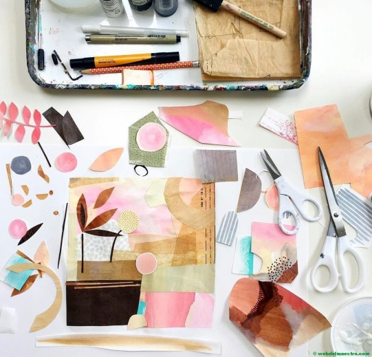 Ideas para crear un collage