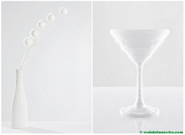 Color blanco-