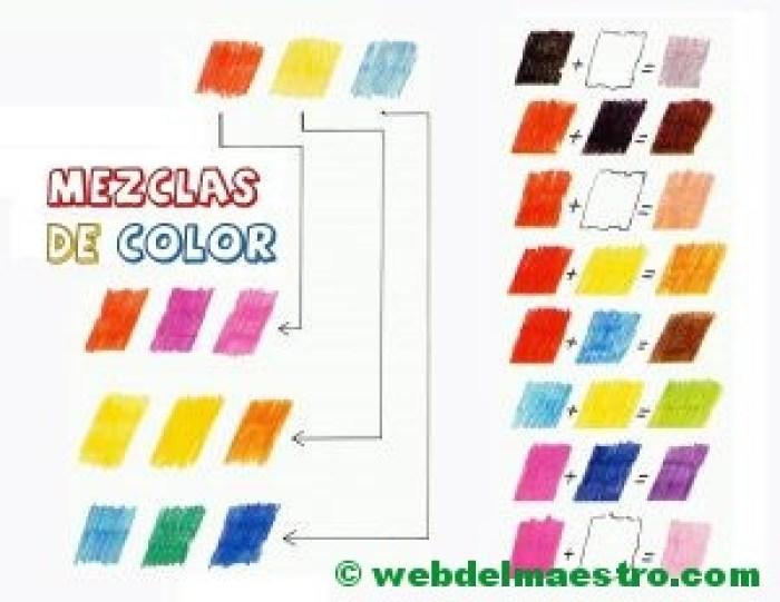 Las mezclas de color