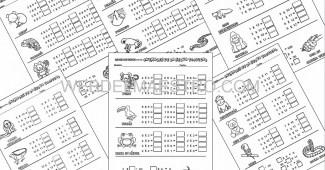 Ejercicios de tablas de multiplicar