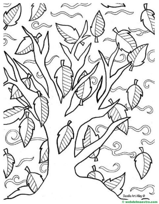 arbol de otoño-I