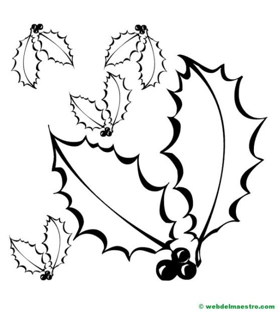 hojas de otoño para colorear--