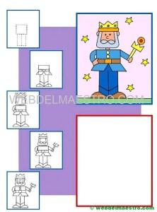 Como dibujar un rey-