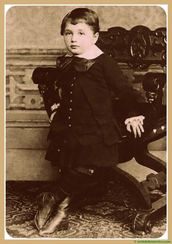 Albert Einstein en la infancia