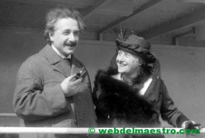 Albert Einstein en su vida adulta