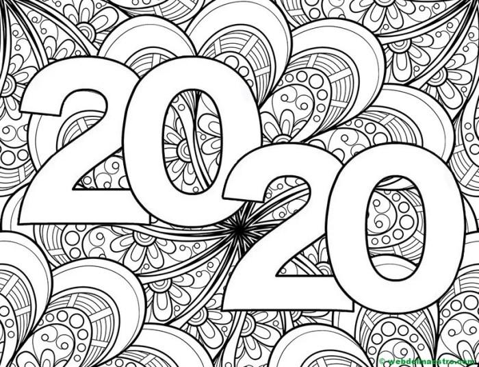 19. Dibujo de 2020