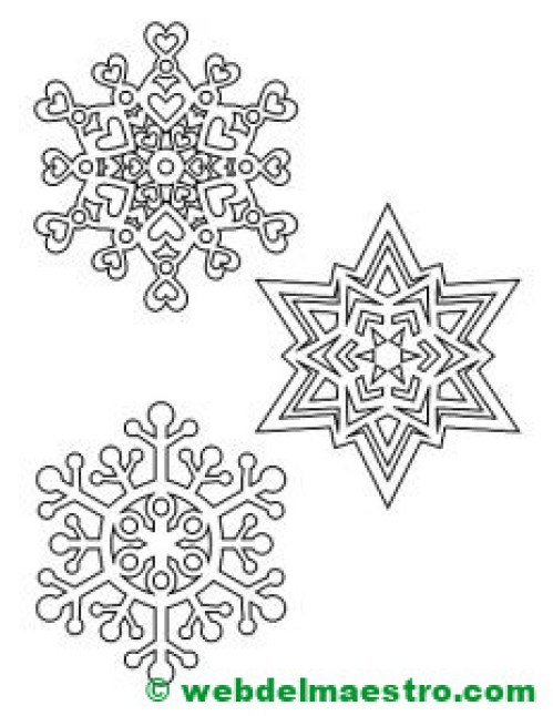 Copos de nieve-1