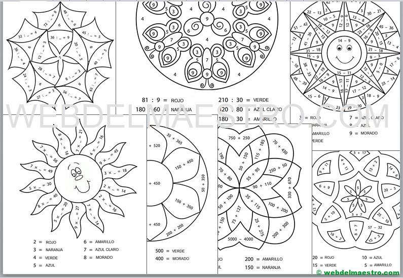 Ejercicios De Matemáticas Segundo De Primaria Web Del Maestro
