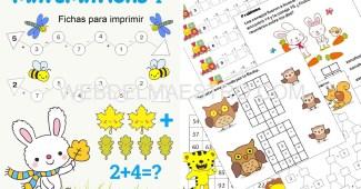 fichas matematicas 1 primaria