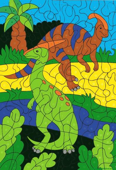Dibujo de dinosaurios- 23