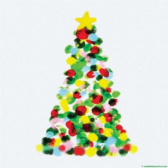 Dibujo de árbol de Navidad nº 4