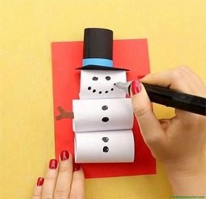 Muñeco de nieve-Procedimiento-4