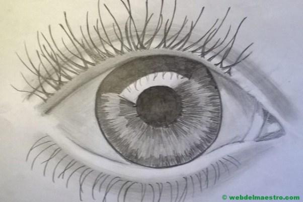 dibujo de ojo