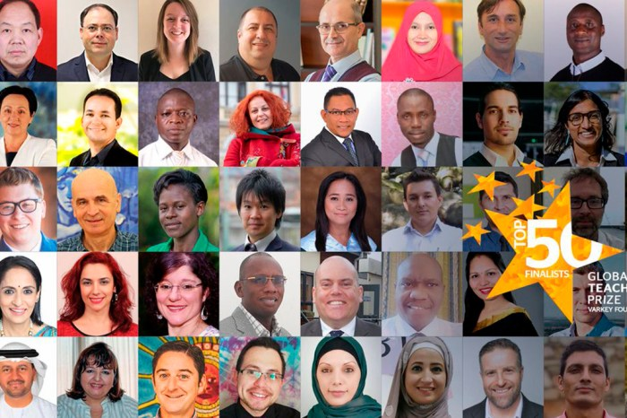 GLOBAL TEACHER PRIZE 2019: LOS 50 FINALISTAS Y LOS DOCE AMERICANOS NOMINADOS