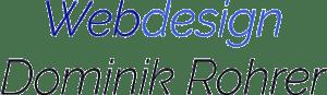 Webdesign_Dominik_Rohrer_Logo