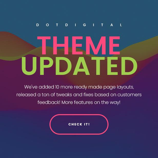 DotDigital - Web Design Agency WordPress Theme