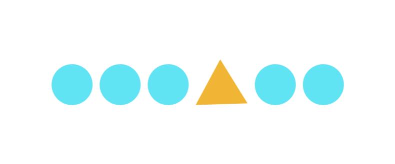 形状や色で差別化