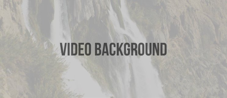 What is video background trend all about?
