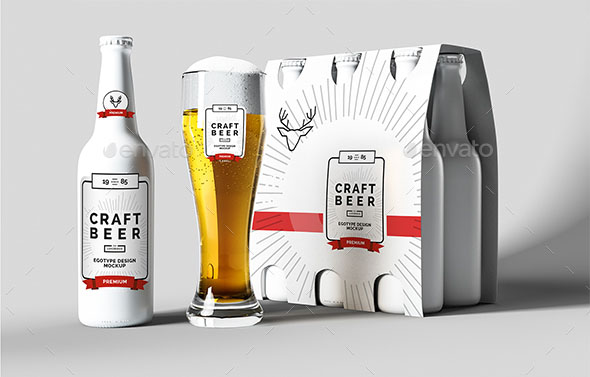 Download 45+ Best Beer Bottle&Can Mockups 2020 (PSD, Vector) | Free ...