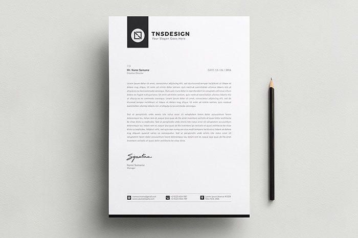 50 best letterhead design