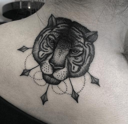 50 Back Neck Tattoos (2)