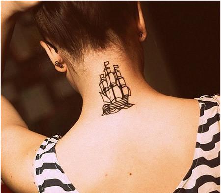 50 Back Neck Tattoos (34)
