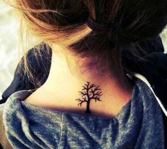 50 Back Neck Tattoos (35)