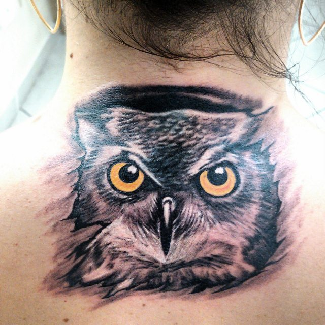 50 Back Neck Tattoos (44)