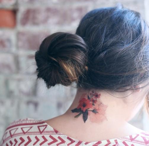50 Back Neck Tattoos (8)