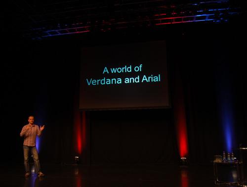 Mark Boulton's presentation at Build