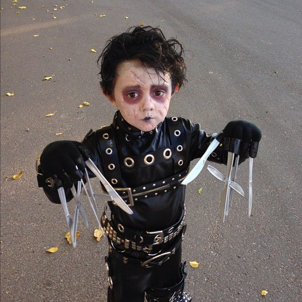 Edward Scissorhands scars by mgibson3. This is not my son