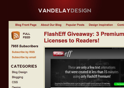 Vandelay Design Blog
