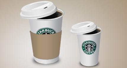 Starbucks coffee icons