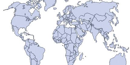 Free World Map Illustrator File