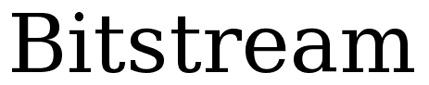 Bitstream Vera Serif