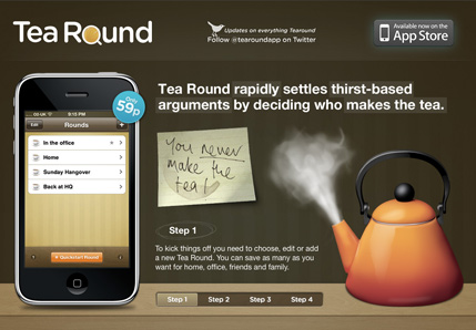 Tea Round App
