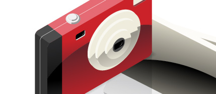 Create a Detailed Camera with Photo Icon