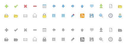 Free web development icons #1
