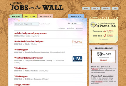 Jobs on the Wall